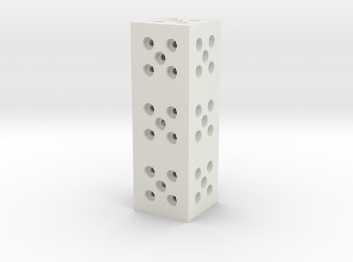 Building Block 1x3 3d printed