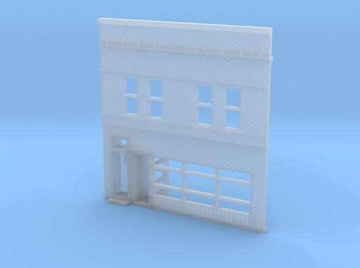 Edison Court Tap Building Front 3d printed