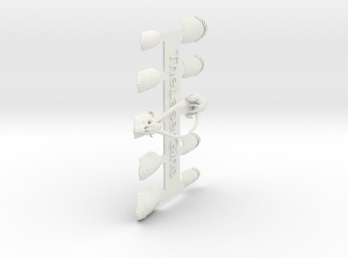 Dragon Master Nails (Size 3) 3d printed
