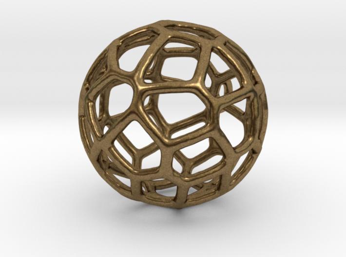 Organic Sphere Pendant 3d printed