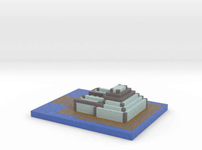 deep water outpost 3d printed
