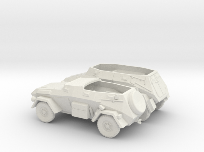 1/100 (15mm) SdKfz 247 ausf A and B 3d printed