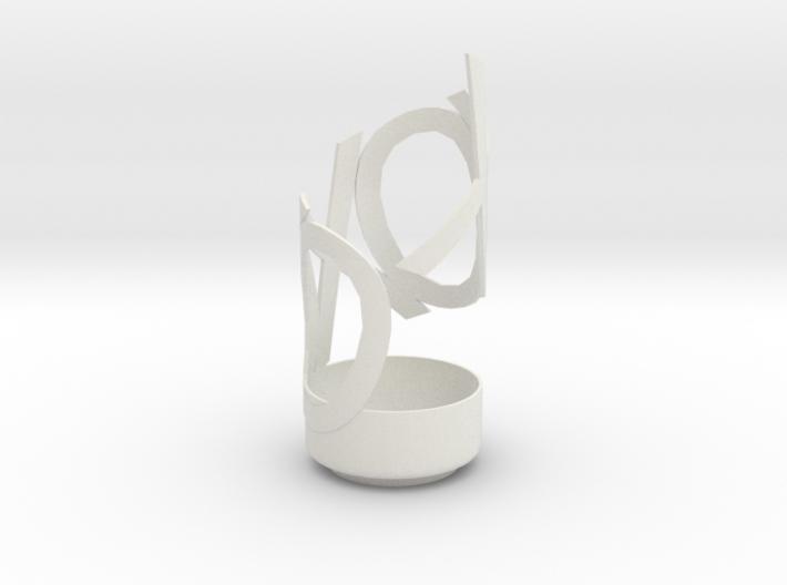 Hugs & Kisses Vase 3d printed
