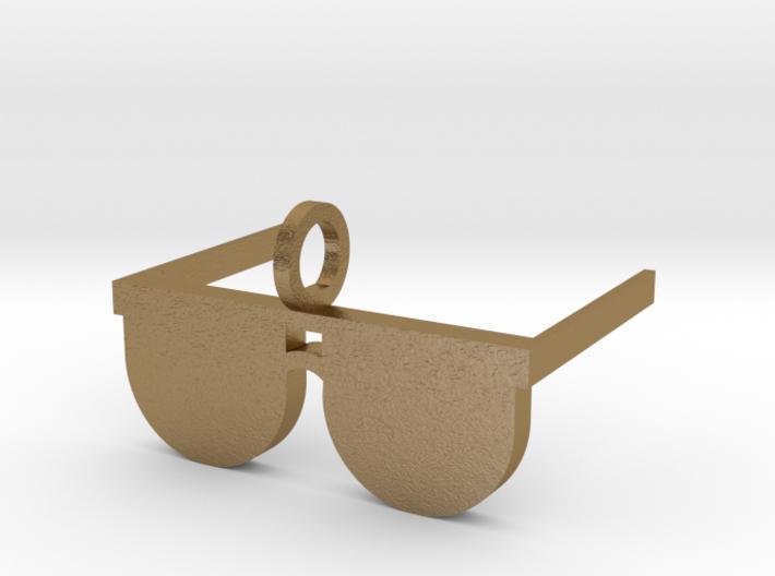 Sunglasses Pendant 3d printed I Love Sunshine Pendant