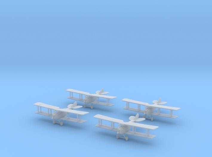 1/288 Albatros C.III (x4) 3d printed