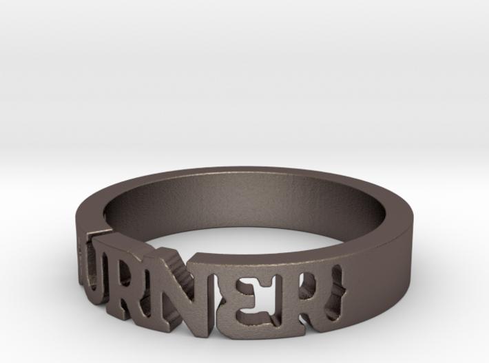 BlakOpal 'Burner' Cutout Band - Size 11 3d printed