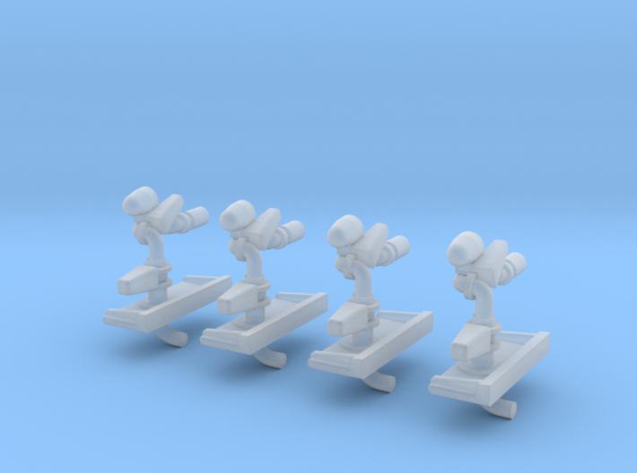 Werfer-Automatic für Zetros.stl 3d printed