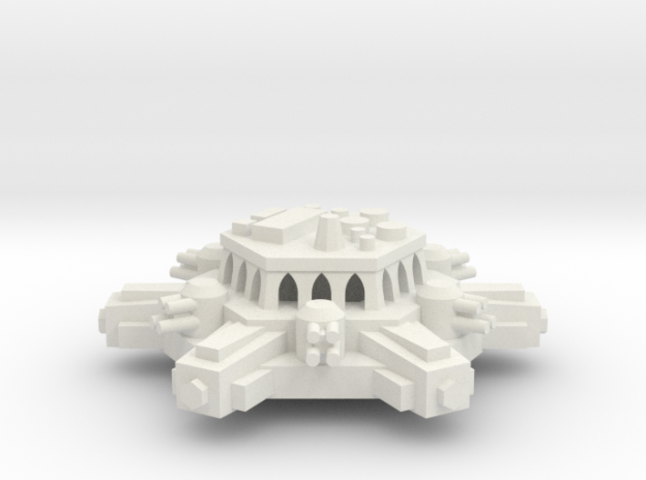 BFG Orbital Defense Battery Platform 3d printed