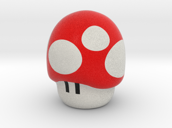 Super Mario Mushroom - Pencil Accesory 3d printed