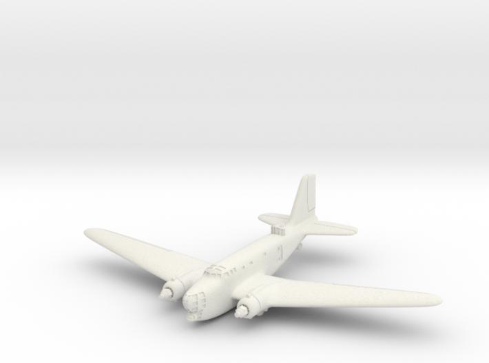 Douglas B-18A Bolo 6mm 1/285 (in flight) 3d printed