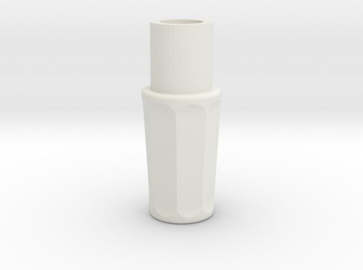Sonic Screwdriver Grip - Matt Smith - Ceramic Matl 3d printed