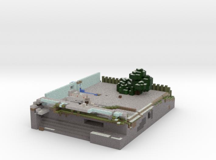 pmin Square 3d printed