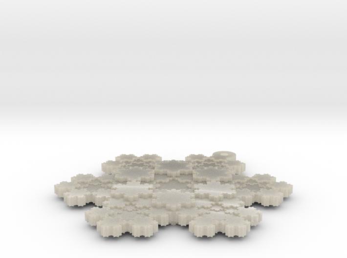 Koch Snowflake - 1 3d printed