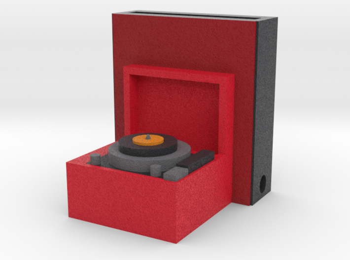Record Player Iphone Speaker 3d printed