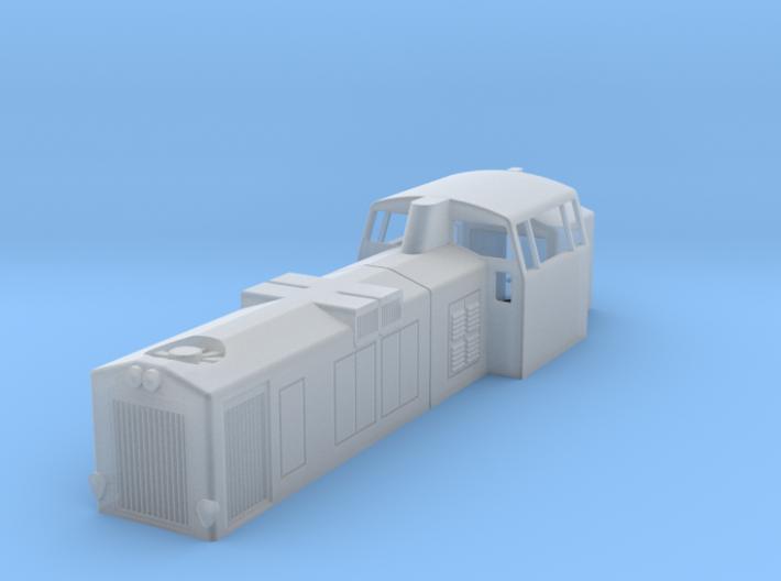 Dv12 2500 n-scale (1:160) 3d printed