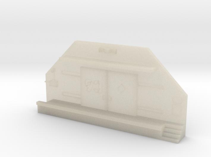 6mm Facade - Ammo Bunker 3d printed