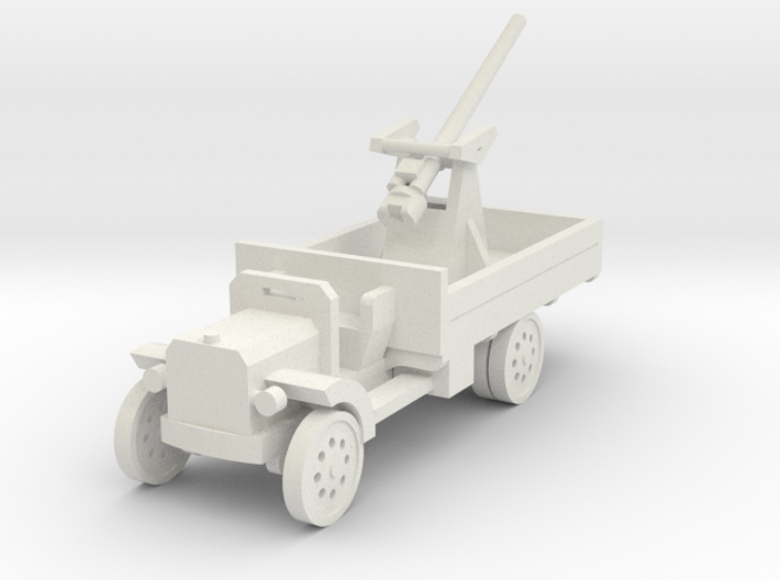 1/144th 3 inch A.A. Mk .1 on Peerless Lorry 3d printed