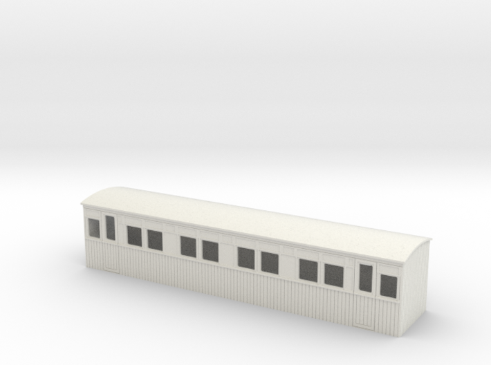 009 colonial 1st saloon coach 3d printed