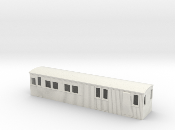 :009 colonial 1st saloon brake coach 3d printed
