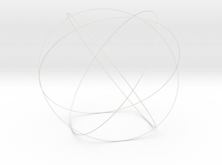 """9.5"""" Genesa Crystal 3d printed"""
