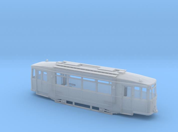 Tram Gotha T2 Spur H0 (1:87) 3d printed