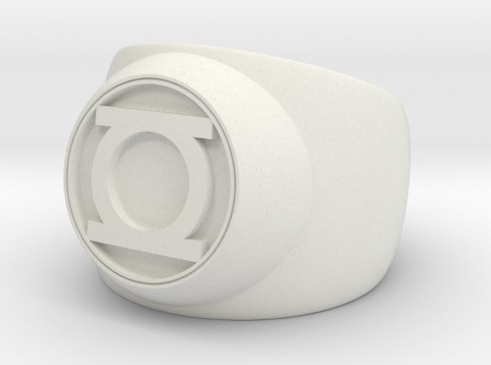 Green Lantern Ring- Size 5.5 3d printed