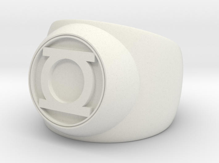 Green Lantern Ring- Size 7 3d printed
