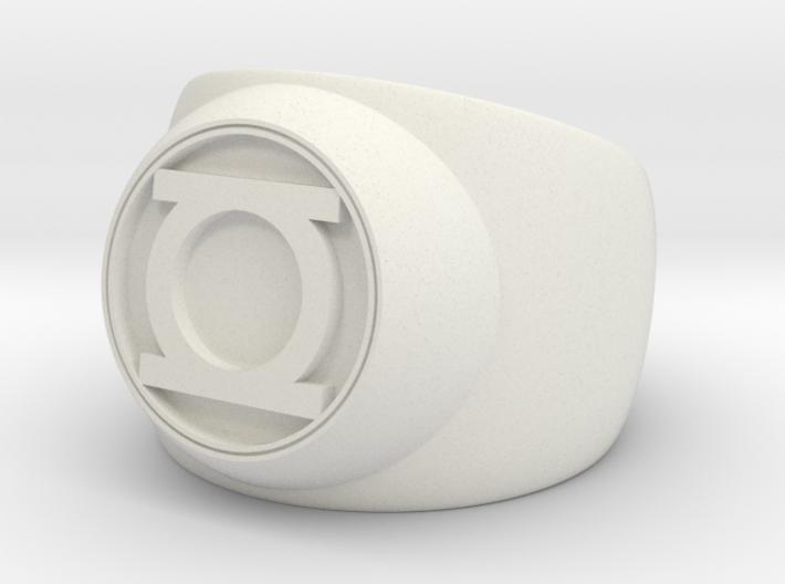 Green Lantern Ring- Size 12.5 3d printed