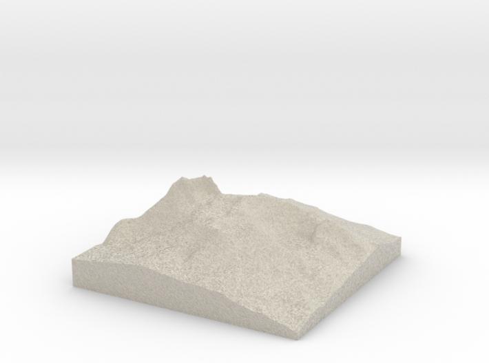 Model of Lemei Rock 3d printed