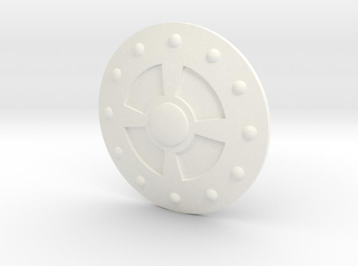 Mini Comic Shield of Glory 3d printed