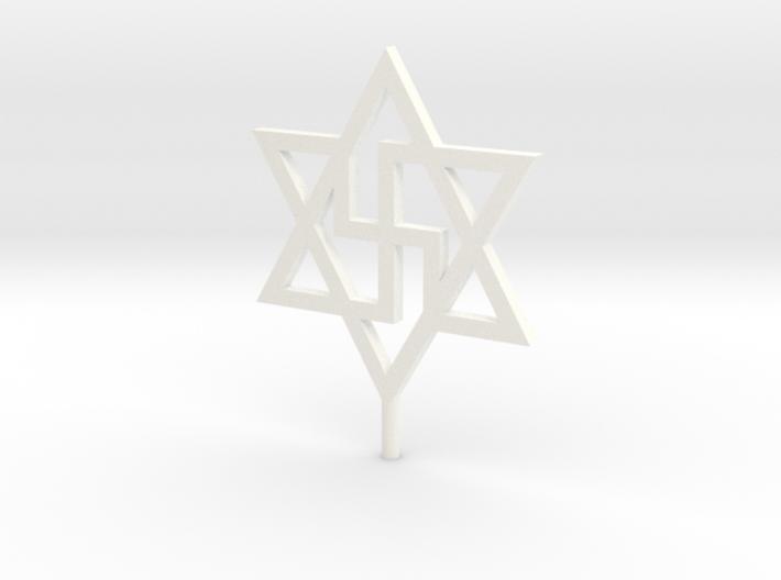 Elohim Infinity Symbol 1:200 3d printed