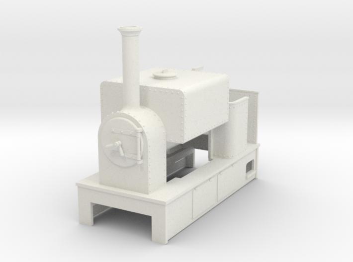O9 saddle tank tram loco #3 3d printed