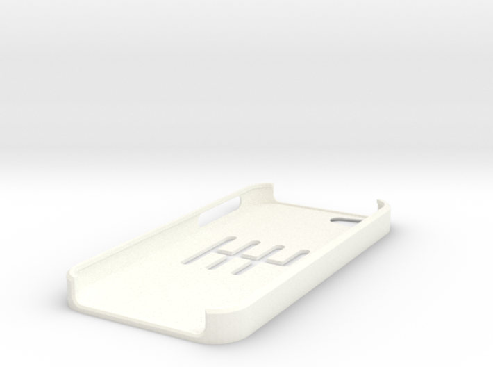 I-Phone 5 6-speed MT slotted case 3d printed