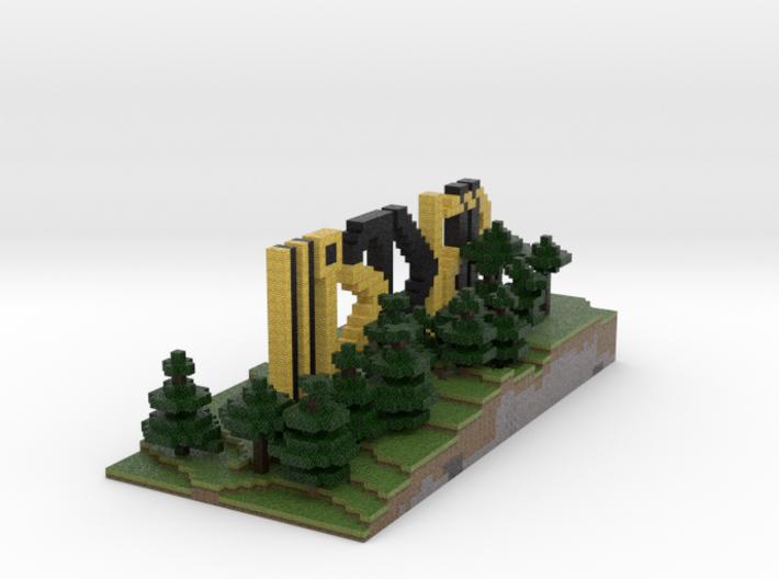 SKRill Sign 02 (smaller version) 3d printed