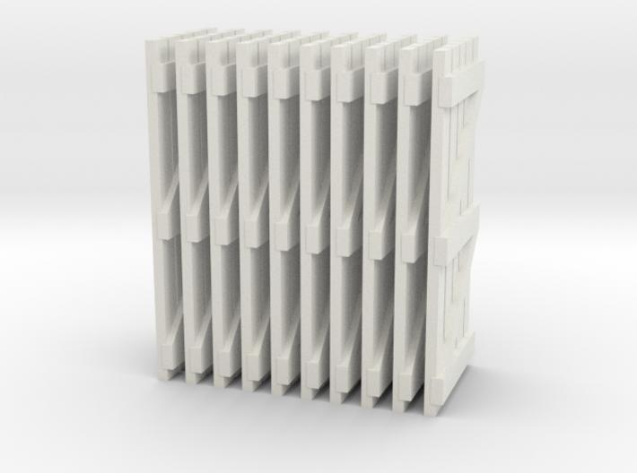 Garden Gates OO Scale 3d printed