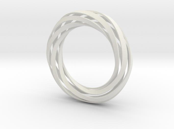 Twist Bracelet (XS) 3d printed