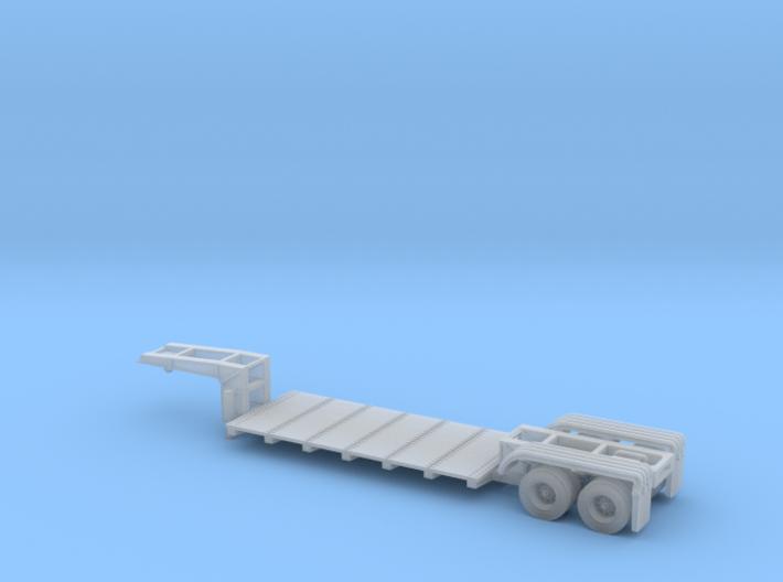 N scale 1/160 Lowboy Heavy Duty 3d printed