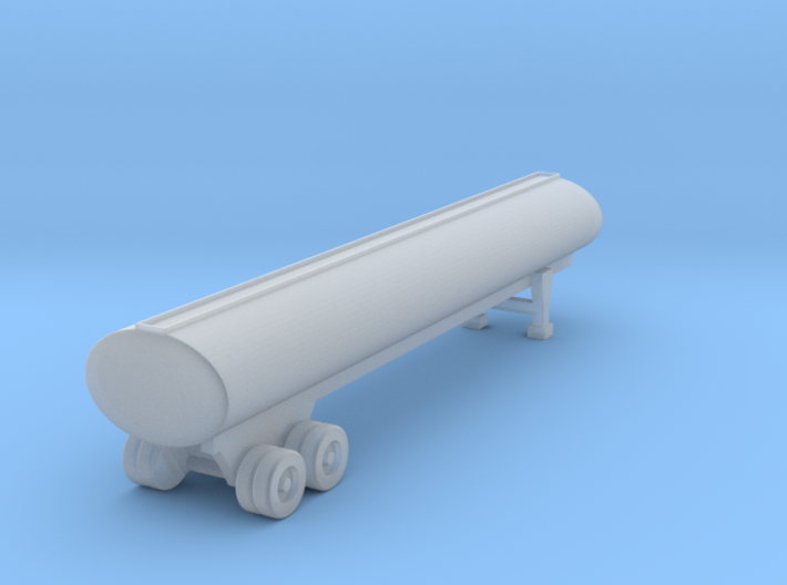 40 Foot Tank Trailer - 1:144 scale 3d printed