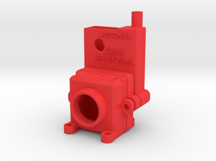 FPV Housing for Camera and Transmitter 3d printed