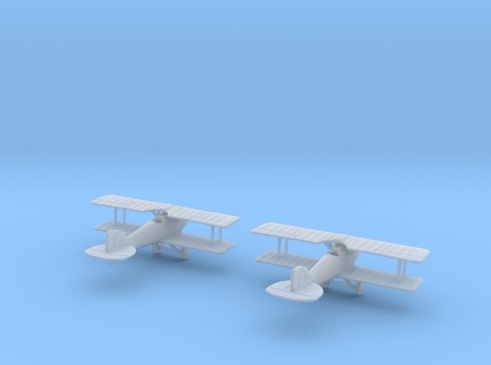 1/288 Albatros D.II 3d printed