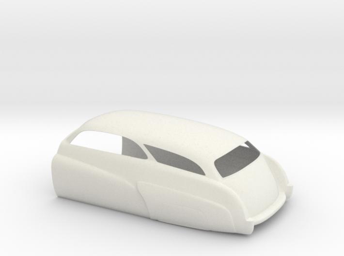Mercury Wagon Rear 3d printed