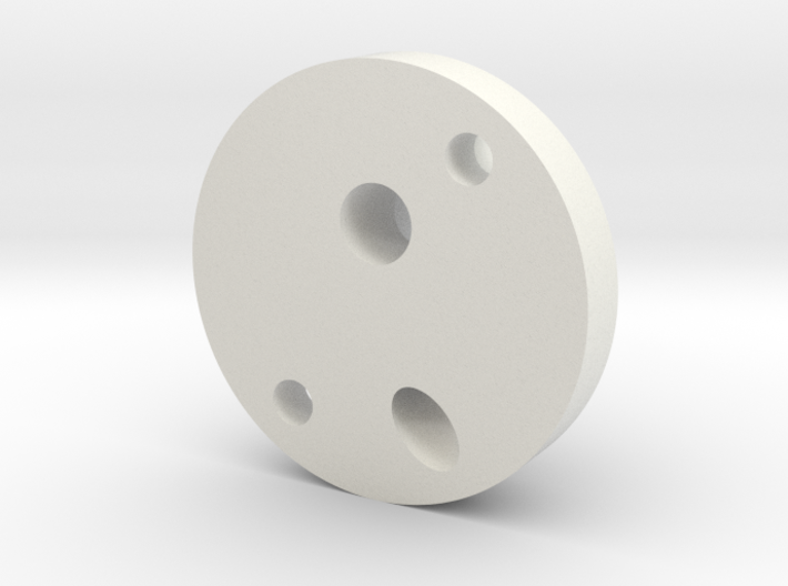OilPipeJunctionBlock 3d printed