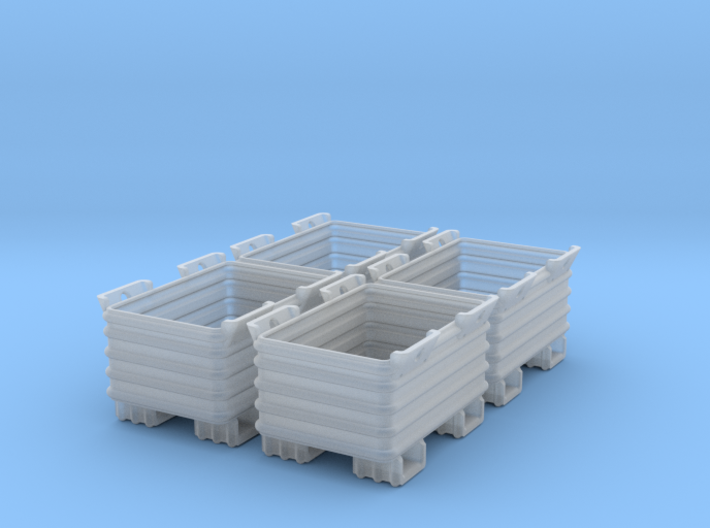 Stahlbox 1:45 4x 3d printed