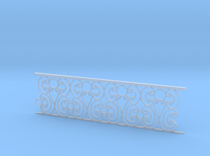 1:48 Ornate Railing 3d printed