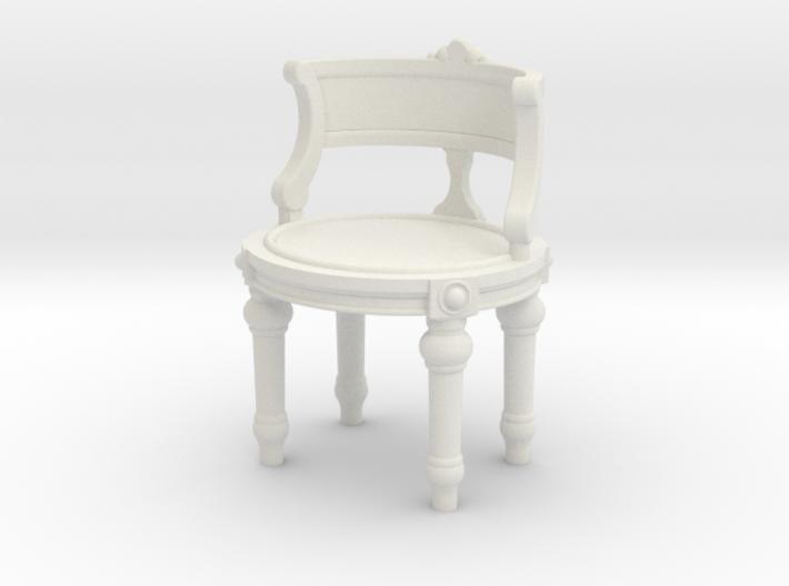 1:24 Vanity Chair 3d printed