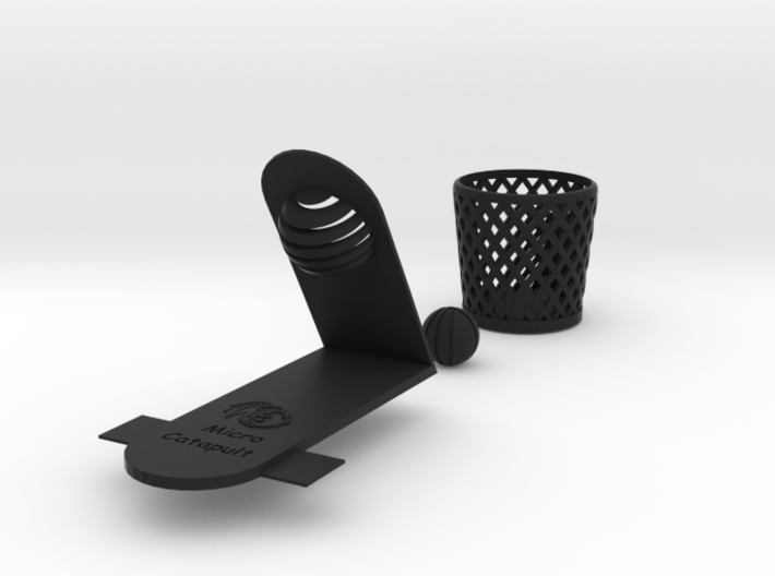 Dragon Catapult - Dunk Kit 3d printed