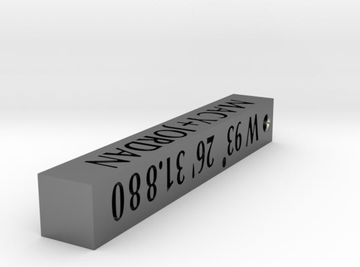 Macy + Jordan Pendant 3d printed