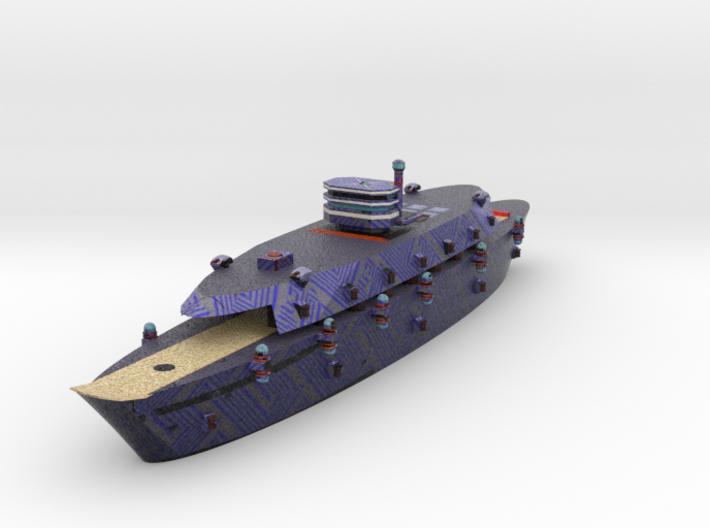 Krupp Carrier Color 1:600 x1 3d printed