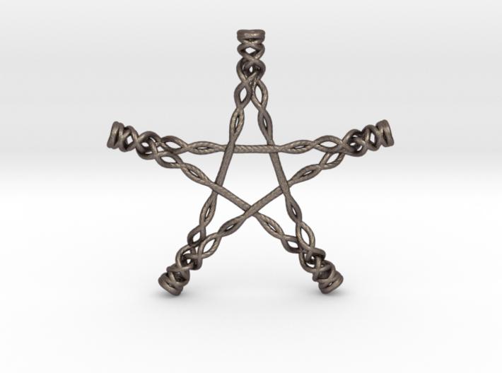 Twisted Pentagram 3d printed