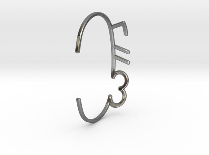 ThreeFN Bracelet - Ladies 3d printed